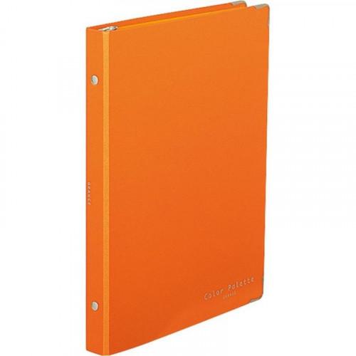 KOKUYO Color Palette Binder Notebook B5-S Orange