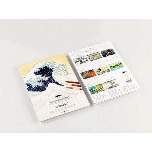 PEPIN Artists' Colouring Book Hokusai