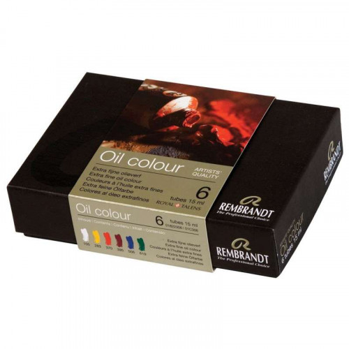 TALENS Rembrandt Oil Starter Set 6x15ml
