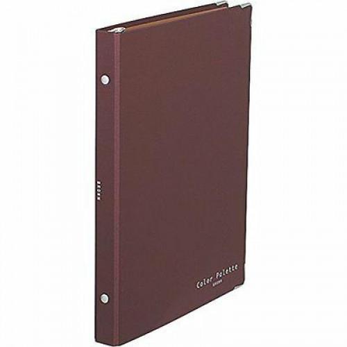 KOKUYO Color Palette Binder Notebook B5-S Brown