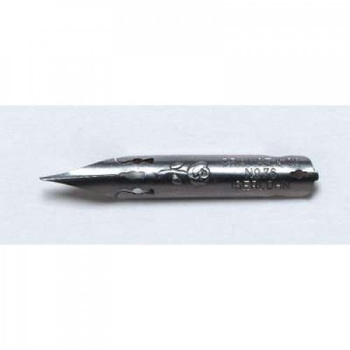 BRAUSE 10 Nibs Nr.76B Rose 0.45mm (Pan-Wide)