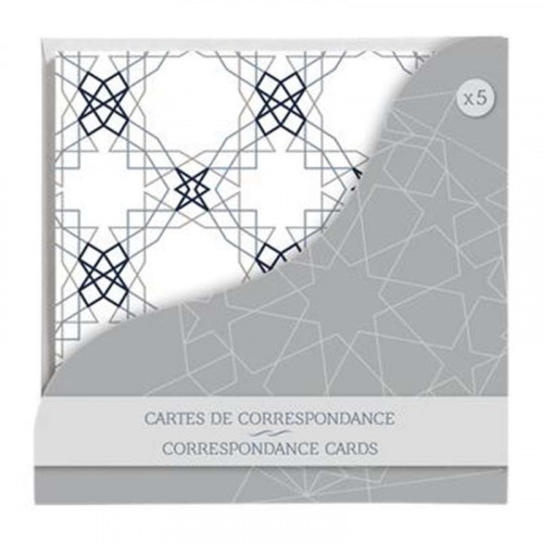 CF Lalla Correspondence Cards 140x140mm 5s Ass.