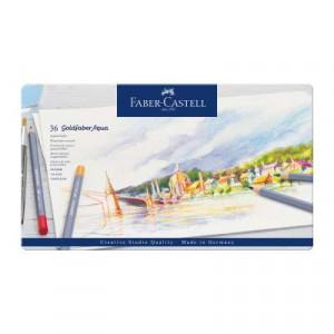 FC Goldfaber Aqua Watercolour Pencils tin of 36pcs