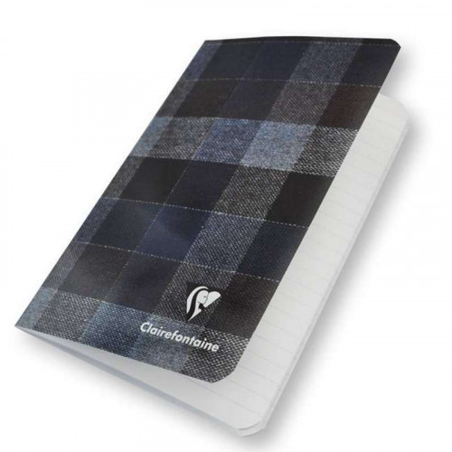 CLAIREFONTAINE Madras 11x17cm Ruled Blue-Brown