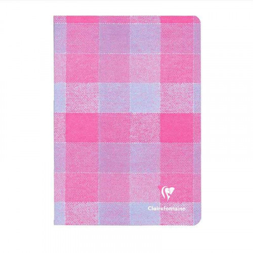 CLAIREFONTAINE Madras A5 Ruled Blue-Pink