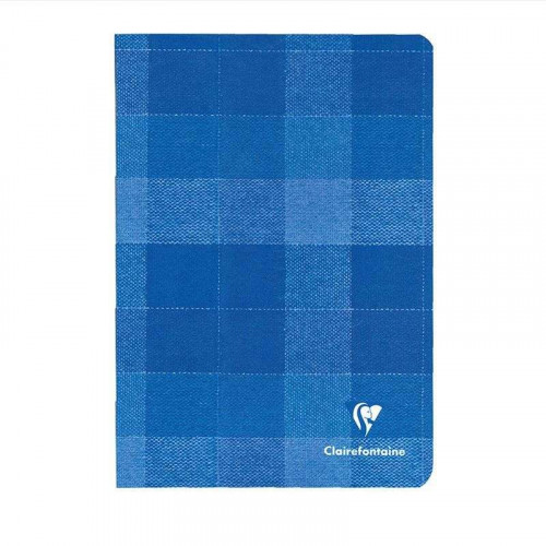CLAIREFONTAINE Madras A5 Ruled Ultramarine