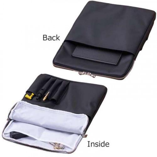 KOKUYO x trystrams Bag in Bag A4 Vert. PU Black
