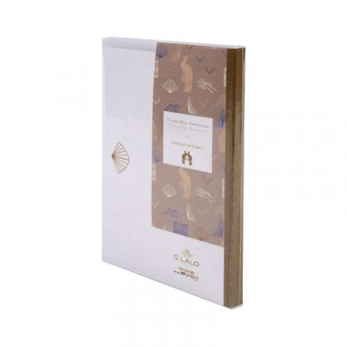 G.LALO 100 years Cards & Envelopes Set-Rose