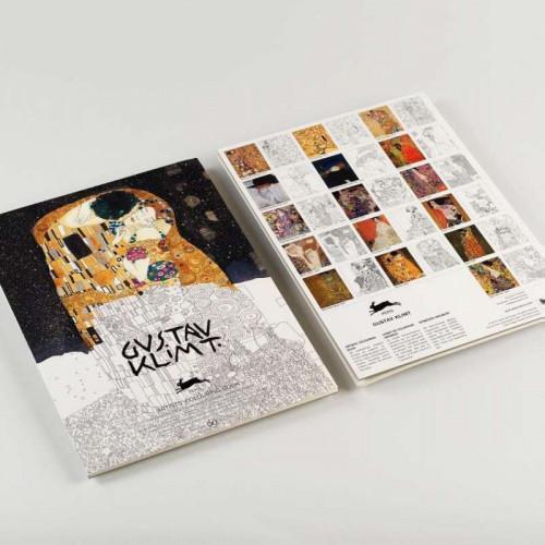PEPIN Artists' Colouring Book Gustav Klimt