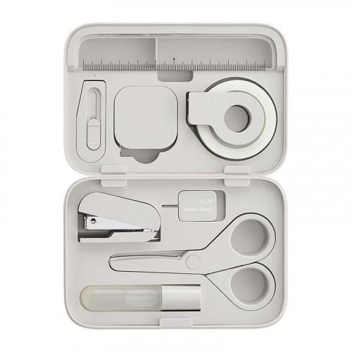 PLUS Team Demi Stationery Kit Nezu (Grey)