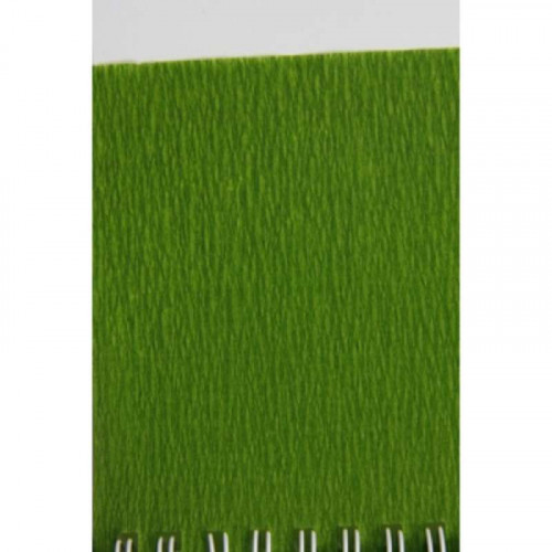 CF Crepe Paper Roll 75% 2.5x0.5M Moss Green