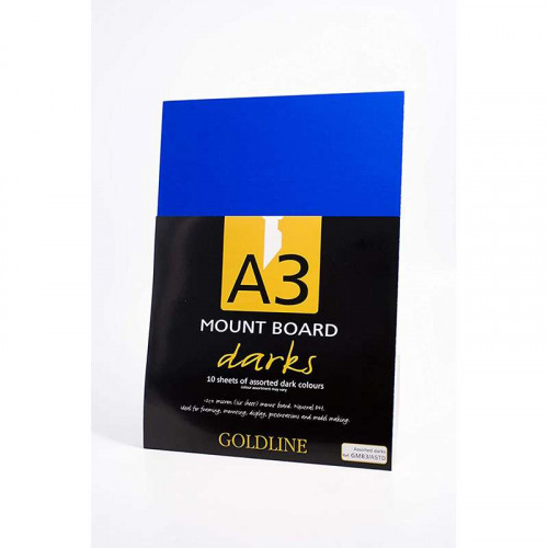 CF Goldline Mount Boards A3 Assorted Darks