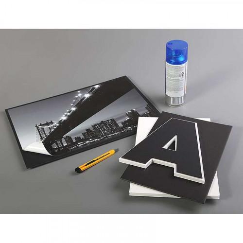 CF Foam Board 3mm A3 Black 5s