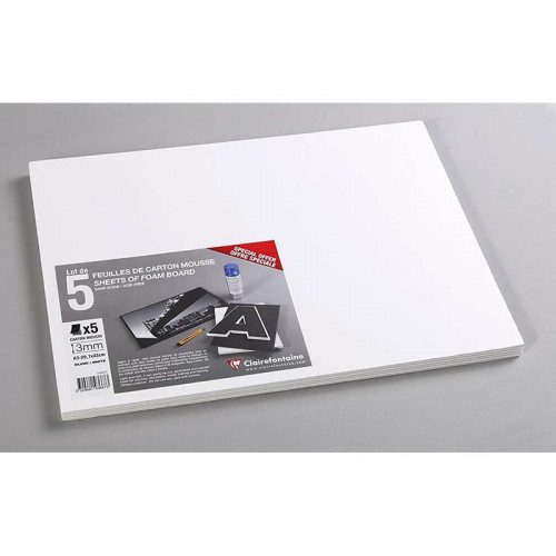 CF Foam Board 3mm A3 White 5s