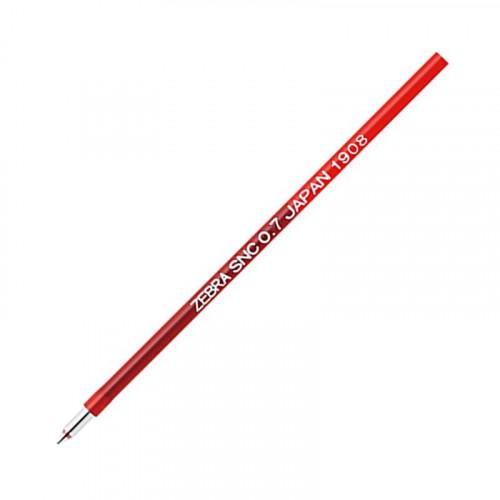 ZEBRA SNC Refill 0.7mm Red