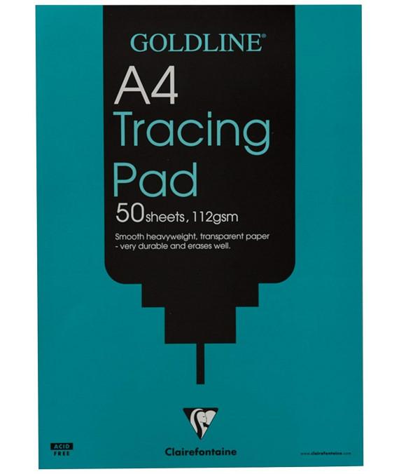 CF Goldline Tracing Pad A4 112g 50s