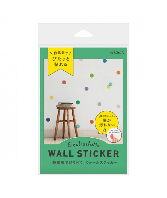 MIDORI Electrostatic Wall Sticker Dot