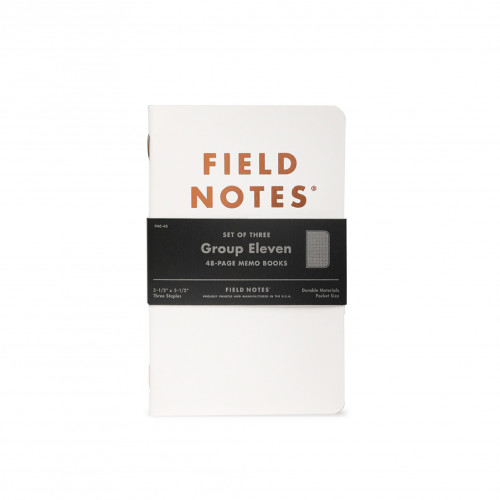 FIELD NOTES QE Group Eleven 3-Pack